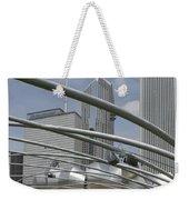 Pritzker South Facade Vertical Weekender Tote Bag