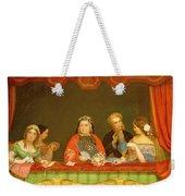 Private Box, Drury Lane, 1837 Weekender Tote Bag