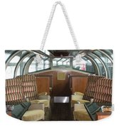 Private Dome Rail Car  Weekender Tote Bag