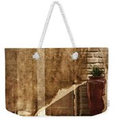 Private Entrance Weekender Tote Bag
