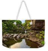 Private Pool Paradise - The Beautiful Scene Of The Seven Sacred Pools Of Maui. Weekender Tote Bag