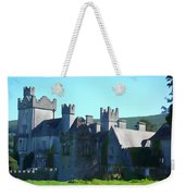 Private Property - Castle Art By Charlie Brock Weekender Tote Bag