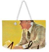 Pro Football Coach Tom Landry Weekender Tote Bag