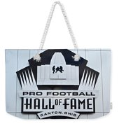Pro Football Hall Of Fame Weekender Tote Bag