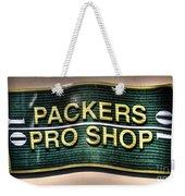 Pro Shop Poster Weekender Tote Bag