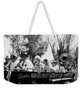 Pro-viet Nam War March Beaver's Band Box Musicians Tucson Arizona 1970 Black And White Weekender Tote Bag