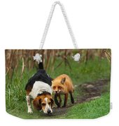 Probably The World's Worst Hunting Dog Weekender Tote Bag