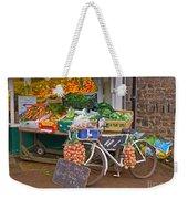 Produce Market In Corbridge Weekender Tote Bag
