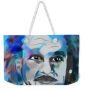 Professor Einstein Weekender Tote Bag