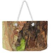 Profile Face In Tree Weekender Tote Bag