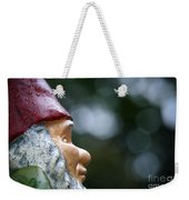 Profile Of A Garden Gnome Weekender Tote Bag