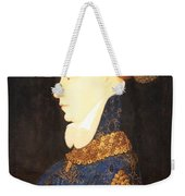 Profile Portrait Of A Lady -- Franco Flemish 15th Century Weekender Tote Bag