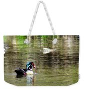 Profiled Duck Weekender Tote Bag