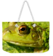 Profiling Frog Weekender Tote Bag by Optical Playground By MP Ray