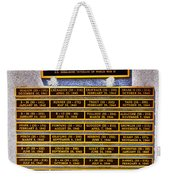 Profound Appreciation Weekender Tote Bag