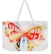 Profound Thought Butterfly Weekender Tote Bag