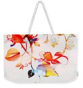Profound Thought Rose Vine Weekender Tote Bag