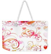 Profound Thought Whirls Weekender Tote Bag