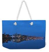 Promenade In Blue  Weekender Tote Bag