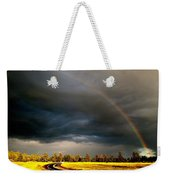 Promise On The Mother Road Rt 66 Flagstaff Az Weekender Tote Bag