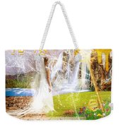 Promised Land Weekender Tote Bag