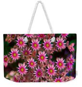Promising Pink Petals Abstract Garden Art By Omaste Witkowski Weekender Tote Bag