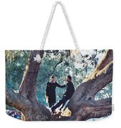 Proposing In A Tree Weekender Tote Bag