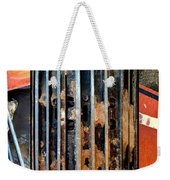 Pros And Cons Truction Weekender Tote Bag