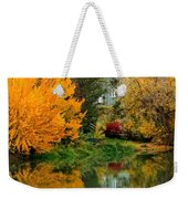 Prosser - Fall Reflection With Hills Weekender Tote Bag