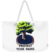 Protect Your Parks Wpa Weekender Tote Bag