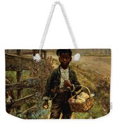 Protecting The Groceries Weekender Tote Bag by Edward Lamson Henry