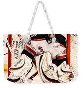 Protecting The Net Weekender Tote Bag by Karol Livote