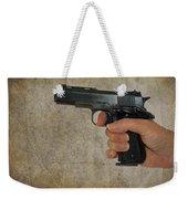 Protecting Your Home Weekender Tote Bag by Charles Beeler