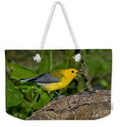 Prothonotary Warbler Weekender Tote Bag