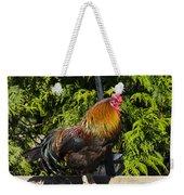 Proud Rooster Weekender Tote Bag