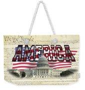 Proud To Be American Weekender Tote Bag