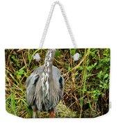 Proud Heron Weekender Tote Bag