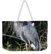 Pround Blue Heron Weekender Tote Bag