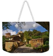 Provencal Village Weekender Tote Bag