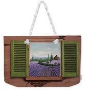 Provence Lavander Fields Original Acrylic Weekender Tote Bag
