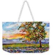 Provence Lavender Fields Weekender Tote Bag