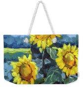 Provence Sunflower Trio Weekender Tote Bag