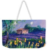 Provence Yellow Flowers Weekender Tote Bag