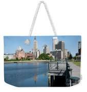 Providence Skyline And Riverfront Weekender Tote Bag