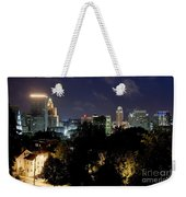 Providence Skyline At Dusk Weekender Tote Bag