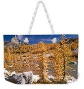 Prusik Peak Above Larch Grove Weekender Tote Bag