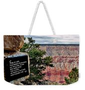 Psalm 68 - Grand Canyon Weekender Tote Bag