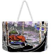Psychedelic Gondola Venice Weekender Tote Bag