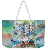 Psychedelic Object Weekender Tote Bag