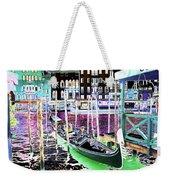 Psychedelic Venetian Scene Weekender Tote Bag